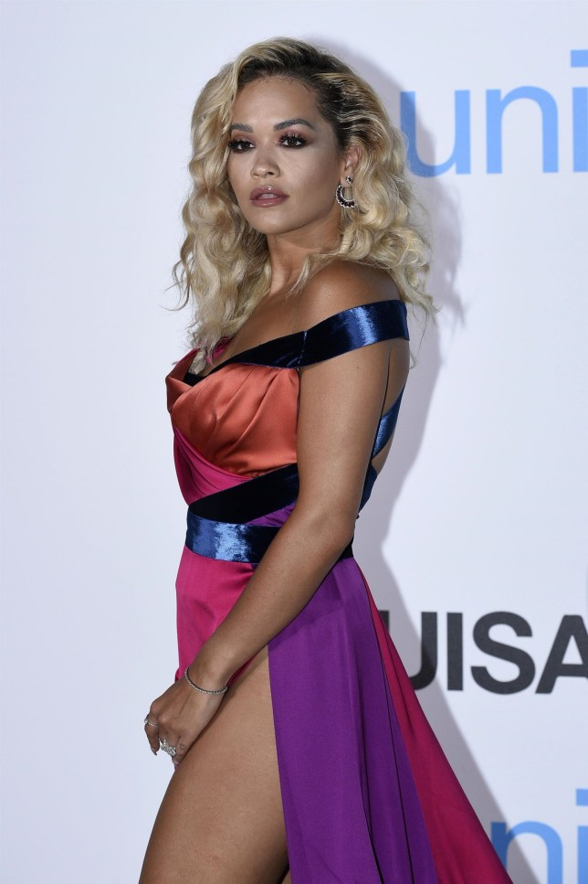 BGUK_1309053 - ** RIGHTS: ONLY UNITED KINGDOM ** Porto Cervo, ITALY - Celebrities at the UNICEF Gala in Porto Cervo, Sardinia, Italy. Pictured: Rita Ora BACKGRID UK 10 AUGUST 2018 BYLINE MUST READ: CIAOPIX / BACKGRID UK: +44 208 344 2007 / uksales@backgrid.com USA: +1 310 798 9111 / usasales@backgrid.com *UK Clients - Pictures Containing Children Please Pixelate Face Prior To Publication*