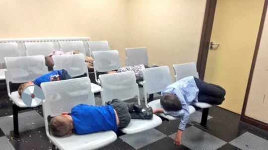 (Picture: Inner City Helping Homeless) Pictures of children sleeping in an Irish police station have shocked Ireland and revealed the extent of the country?s homelessness crisis. A mother of seven uploaded pictures of her children sleeping in Tallaght Garda Station and they went viral as it emerged eight families were searching for somewhere to sleep last night.