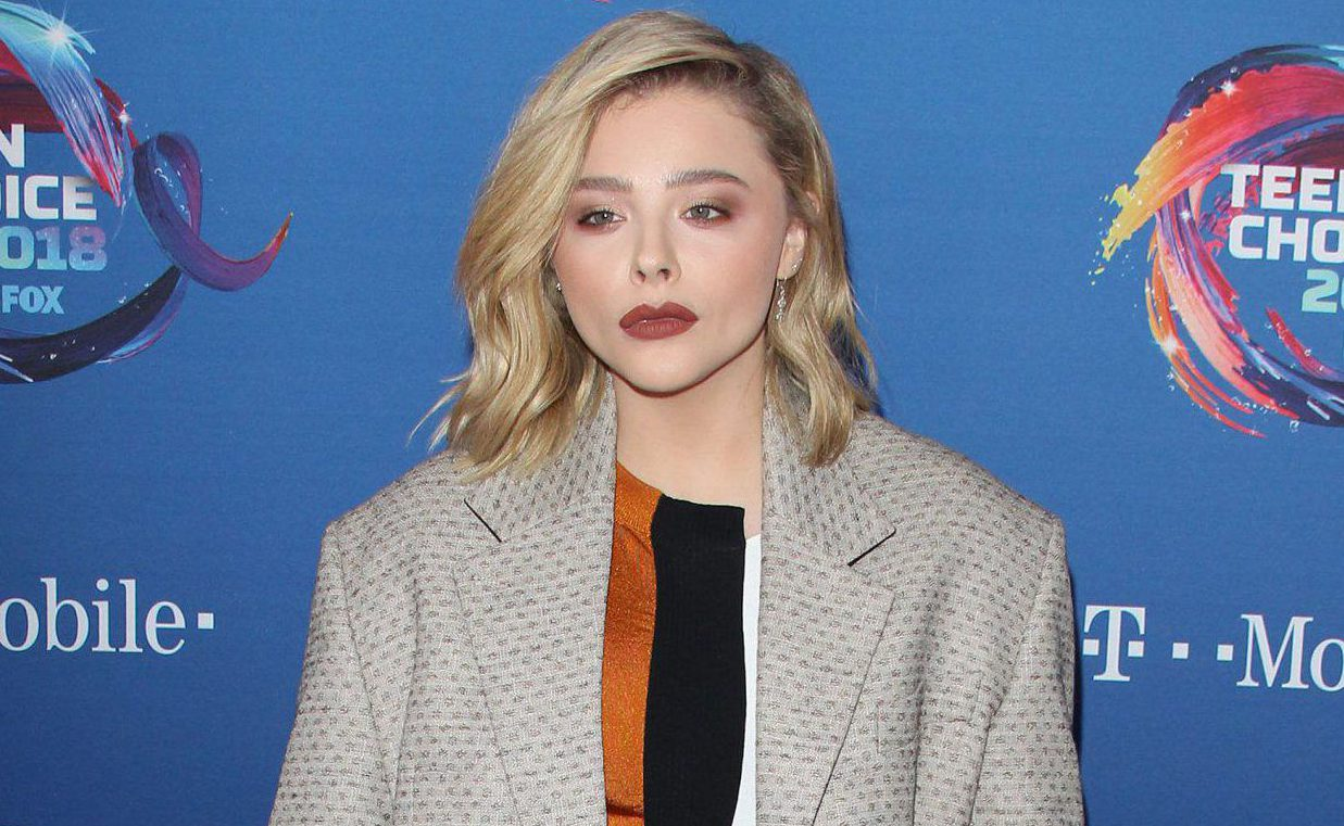 Chloe Grace Moretz was told to wear a push-up bra by studio boss and she was not here for it