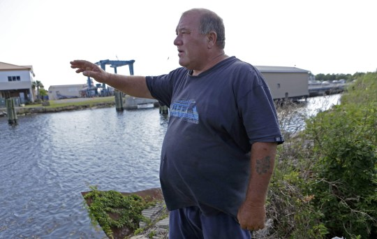In this Oct. 9, 2013 file photo, Calvin Parker, Jr., stands in the area where he and fellow Mississippian Charles Hickson were allegedly abducted by aliens on Oct. 11, 1973, on the banks of the Pascagoula River in Pascagoula Miss. The incident made headlines, sparked UFO sightings nationwide and became one of the most widely examined cases on record. (Picture: AP)