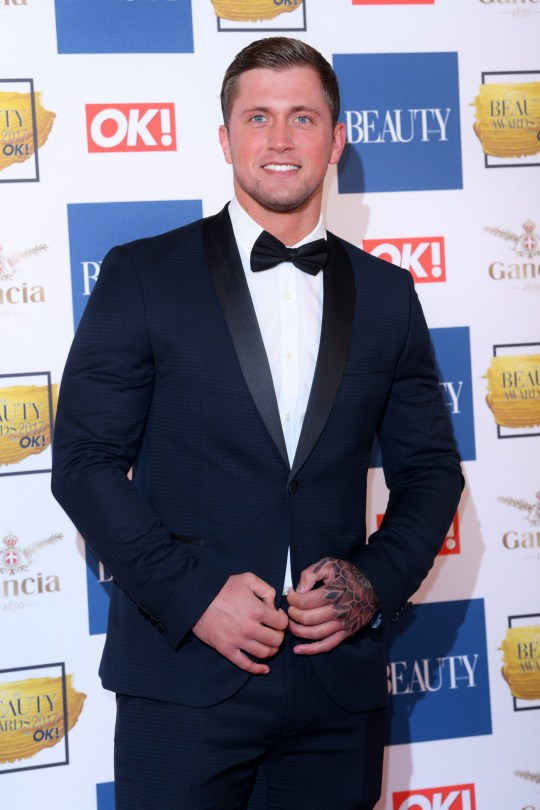 Mandatory Credit: Photo by David Fisher/REX/Shutterstock (9246871bq) Dan Osborne The Beauty Awards with OK!, London, UK - 28 Nov 2017
