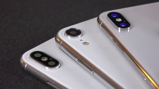 All three iPhone X 2018 models leaked in new video