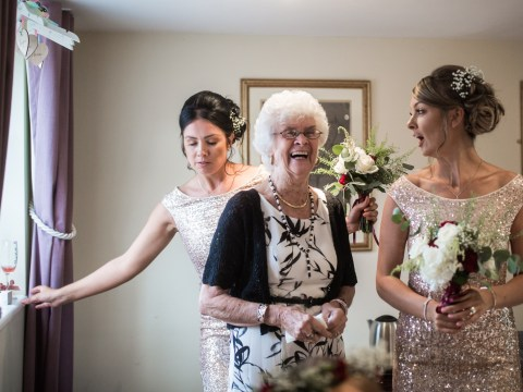 Bride chooses 83-year-old grandma with Alzheimer's to be her bridesmaid