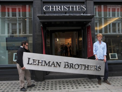 Ex-Lehman Brothers bankers 'to hold party celebrating anniversary of collapse'