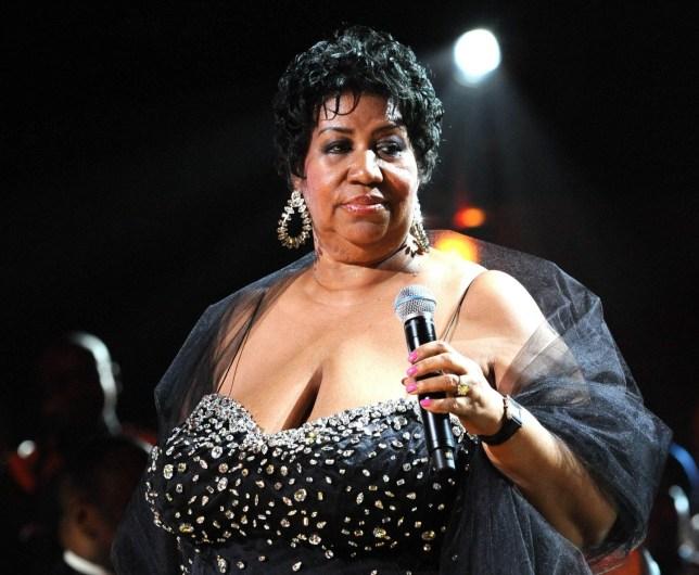Mandatory Credit: Photo by Richard Young Photographic Ltd/REX/Shutterstock (979431dl) Aretha Franklin 2009 Mandela Day Concert Performance at Radio City Music Hall, New York, America - 18 Jul 2009