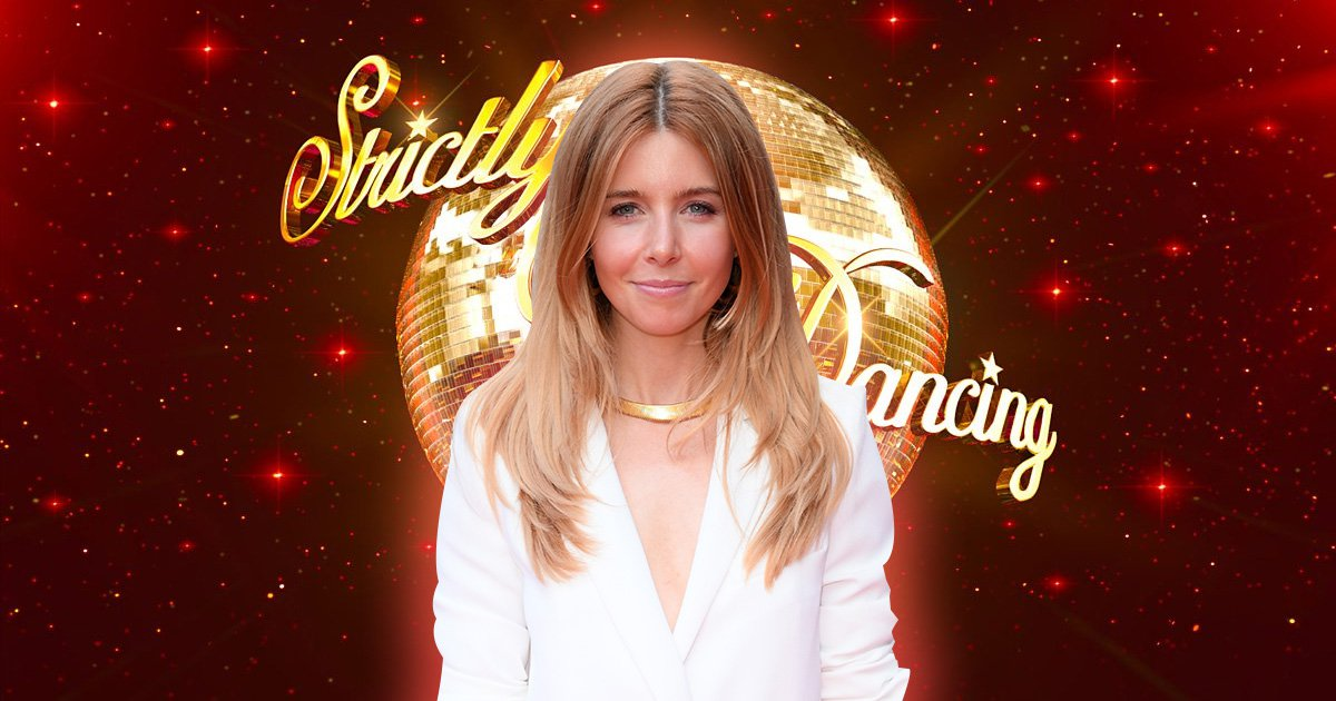 Strictly Come Dancing logo, background, template