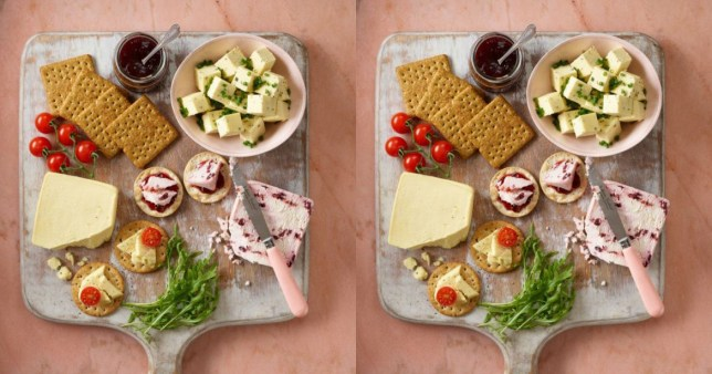 Christmas Cheese Board.Asda Is Going To Sell A Vegan Cheeseboard This Christmas