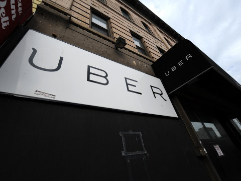 Uber passengers nearly die as taxi plunges into sea