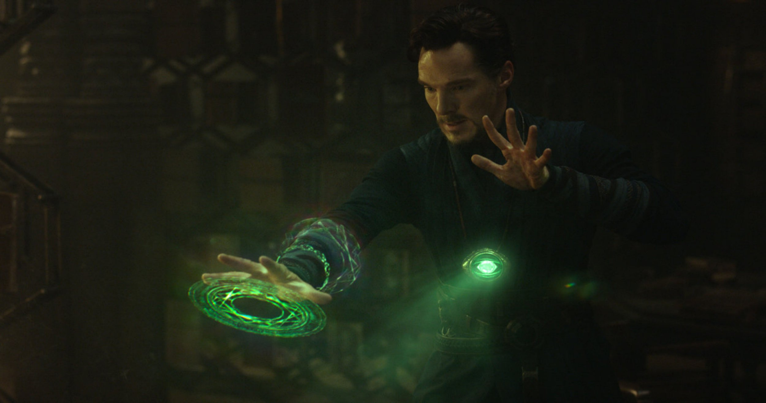 No Merchandising. Editorial Use Only. No Book Cover Usage Mandatory Credit: Photo by Moviestore/REX/Shutterstock (7439541f) Benedict Cumberbatch Doctor Strange - 2016