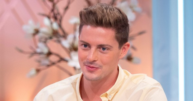 EDITORIAL USE ONLY. NO MERCHANDISING Mandatory Credit: Photo by Ken McKay/ITV/REX/Shutterstock (9785879n) Alex George 'Lorraine' TV show, London, UK - 09 Aug 2018 Speaking of comments about his red skin in the Love Island villa Dr Alex said: ?I?ve had acne for many years and I use medications that help with my skin. One of those has kept my skin beautifully clear. Unfortunately, a side effect of that medication is it can make you very sensitive to the sun and you can burn very easily. In the villa, the amount of time I?m in the sun, it?s very difficult. I used factor 50 and things but unfortunately, yeah I became quite red at certain points.?
