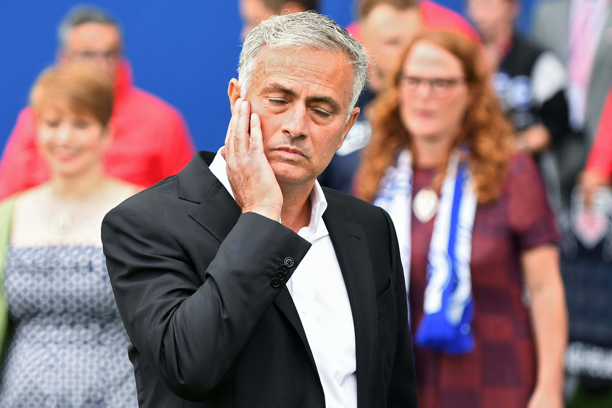 Jose Mourinho, Manchester United Manager - Brighton & Hove Albion v Manchester United, Premier League, Amex Stadium, Brighton - 19th August 2018