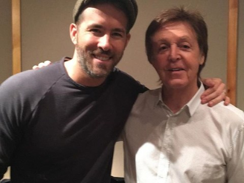 Ryan Reynolds makes Sir Paul McCartney's 'lifelong dream' come true in fan picture… but who's really more excited here?