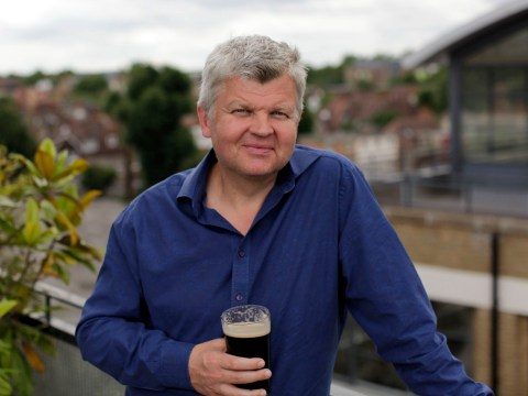 Adrian Chiles drank up to 24 pints a week as he admits he is 'undoubtedly dependent on alcohol'