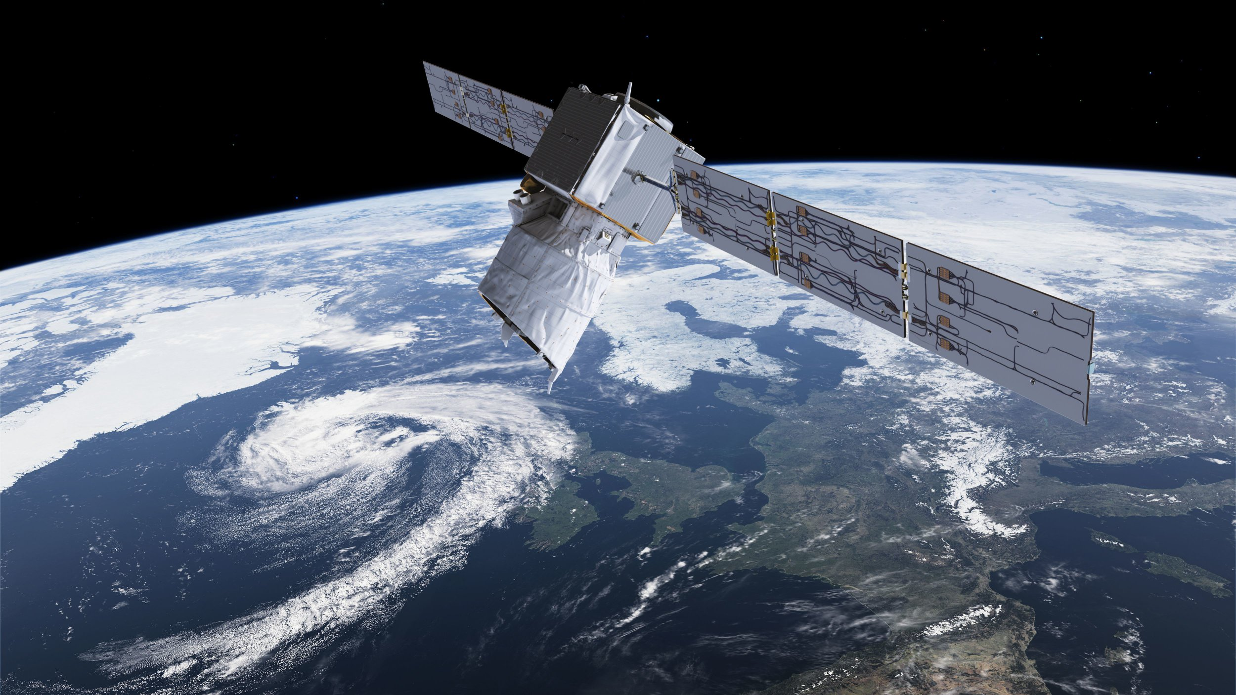 British laser-equipped satellite will blast off into space tonight