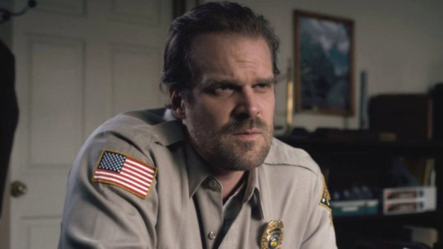 David Harbour on Stranger Things s3