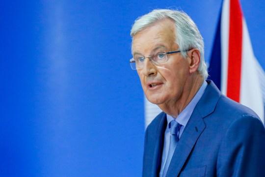 Mandatory Credit: Photo by Isopix/REX/Shutterstock (9771243l) Michel Barnier Article 50 Negotiations, Brussels, Belgium - 26 Jul 2018