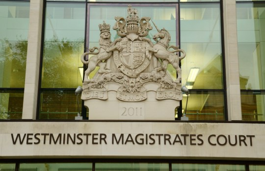Mandatory Credit: Photo by REX/Shutterstock (4222810y) Westminster Magistrates Court London, Britain - 26 Oct 2014