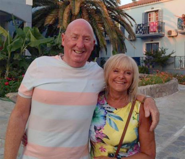 Susan Cooper, 64, and her husband John Cooper, 69 (pictured together), were on holiday at the Steigenberger Aqua Magic hotel in the Red Sea resort town of Hurghada / British Thomas Cook worker 'dies from grief' hours after her husband was killed by a heart attack during holiday in Egypt - couple from Burnley died on holiday in the resort of Hurghada, Egypt / Source: MOL