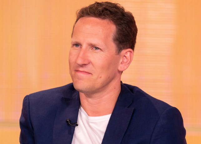 EDITORIAL USE ONLY. NO MERCHANDISING Mandatory Credit: Photo by S Meddle/ITV/REX/Shutterstock (9707558cb) Brendan Cole 'Loose Women' TV show, London, UK - 08 Jun 2018 Loose Women Soccer Aid special