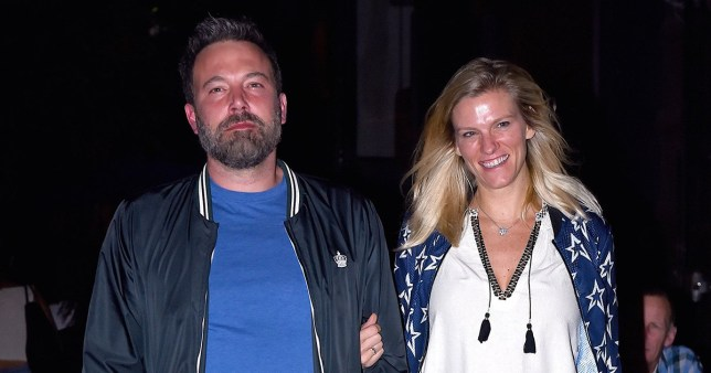 NEW YORK, NY - SEPTEMBER 10: Ben Affleck and girlfriend Lindsay Shookus step out for dinner in Manhattan on September 10, 2017 in New York City. (Photo by Robert Kamau/GC Images)