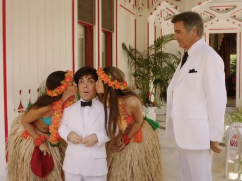 Game Of Thrones star Peter Dinklage channels classic Bond villain Hervé Villechaize in fist look at new HBO biopic