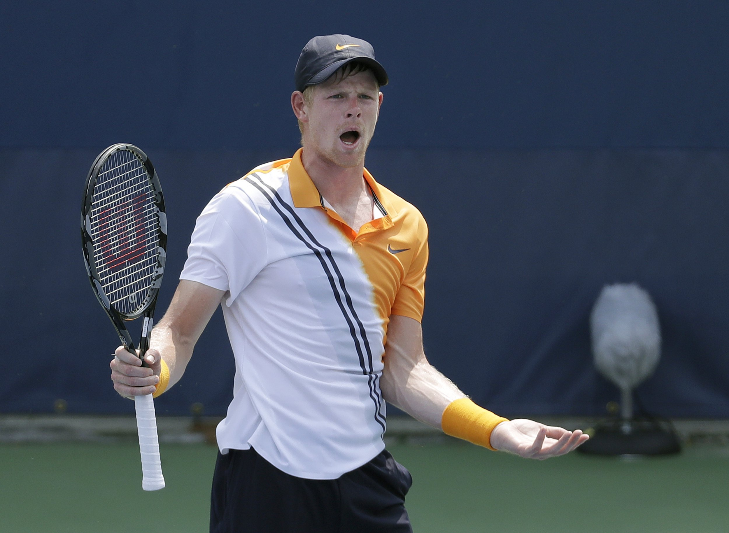 Kyle Edmund suffers early US Open exit amid physical struggles