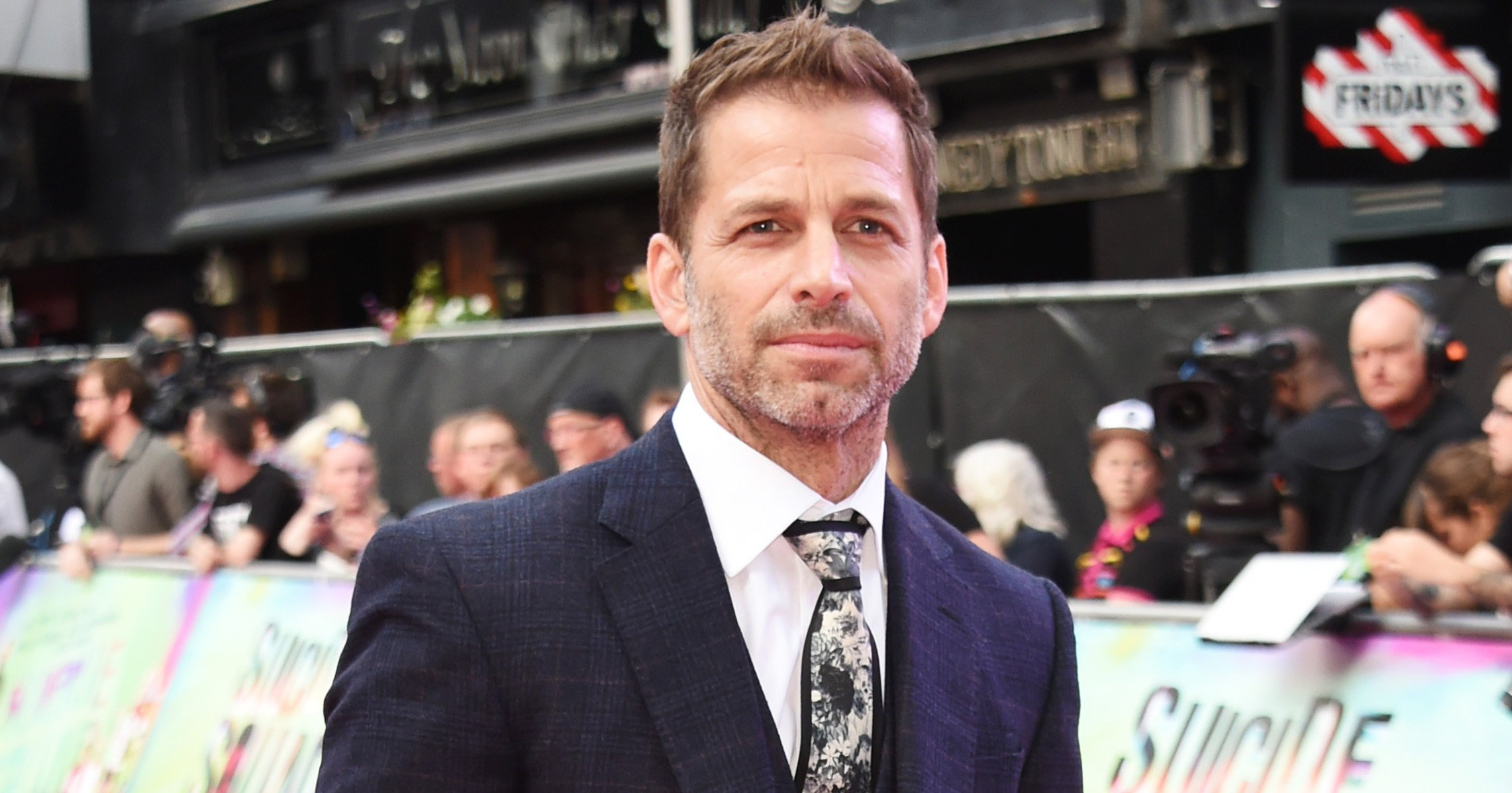 "LONDON, ENGLAND - AUGUST 03: Zack Snyder attends the European Premiere of ""Suicide Squad"" at Odeon Leicester Square on August 3, 2016 in London, England. (Photo by David M. Benett/Dave Benett/WireImage)"