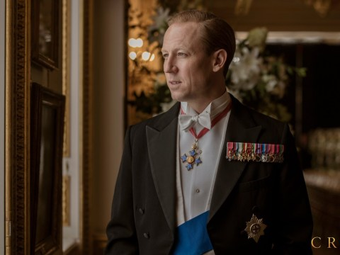The Crown unleashes first look at Outlander star Tobias Menzies as Prince Philip in season 3