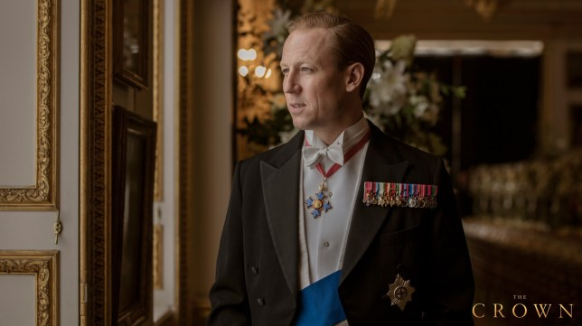 The Crown season 3 first look at Tobias Menzies as Prince Philip