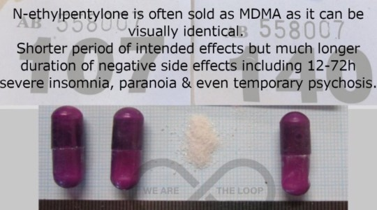 Picture: The Loop First conformation of dangerous 'fake MDMA' that keep users awake for up to three days (N-ethyl) in London