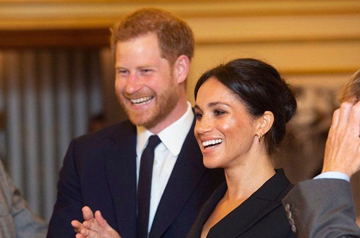 Mandatory Credit: Photo by REX (9826931e) Prince Harry and Meghan Duchess of Sussex 'Hamilton' Gala performance, Victoria Palace Theatre, London, UK - 29 Aug 2018 The evening will raise awareness and funds for Sentebale's work with children and young people affected by HIV in southern Africa.