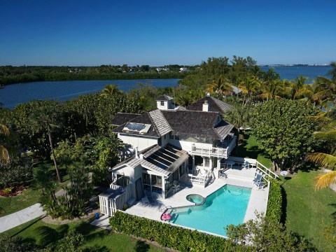 Stunning 3.4 acre private island retreat in Florida is on the market for £3.3 million