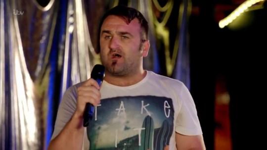 Danny Tetley appearing in Benidorm, Season 9 Episode 09 (Picture: ITV)