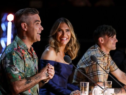 Simon Cowell had to 'write vulgar cheques' to get Robbie Williams and Ayda Field on The X Factor