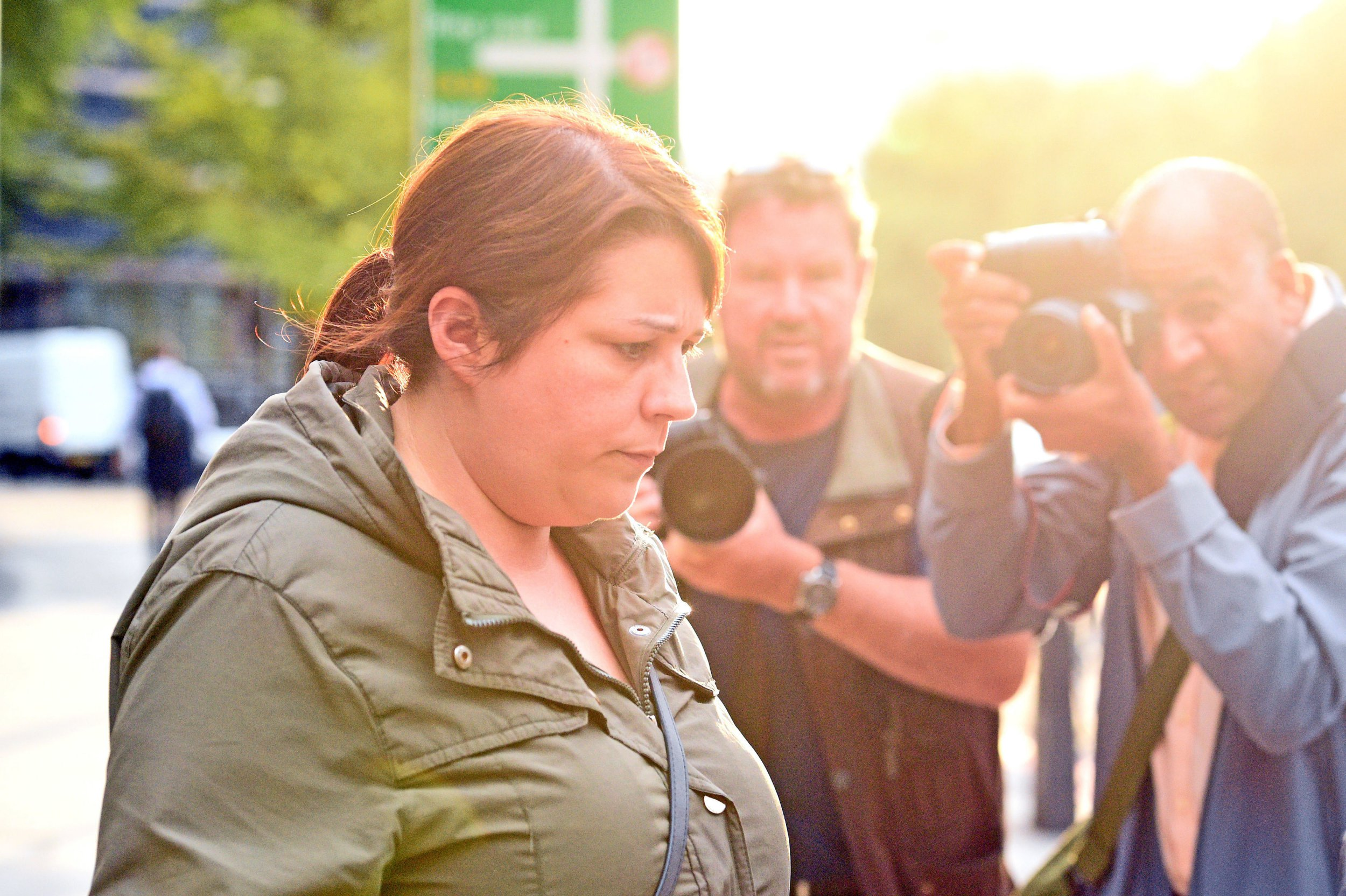 Jenny McDonagh, who worked for Kensington and Chelsea Council, leaving Westminster Magistrates Court where she had appeared charged with fraud offences after allegedly obtaining money intended for victims of the Grenfell Tower disaster. PRESS ASSOCIATION Photo. Picture date: Thursday August 30, 2018. See PA story COURTS Grenfell. Photo credit should read: Kirsty O'Connor/PA Wire