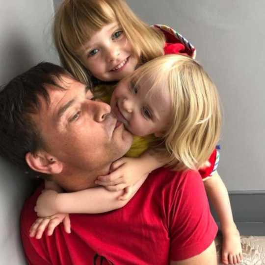 """Pic shows: Mark Hart with his two daughters The family of a British man killed base jumping has revealed he leaves behind twin daughters aged two as they launch a GoFundMe campaign to bring his body home. Mark Hart, 44, from Sheffield, died after he crashed into the side of a cliff in front of horrified friends while BASE jumping in the Swiss Alps. But not only does he leave behind two year old girls and a fiancee, Anna, but also a mountain of debt because he did not have proper insurance cover, and his family will also have to pay the bills to bring his body back. Pictures of him with his daughters were published as the family revealed their heartache at the loss. The GoFundMe campaign message reads: """"Mark passed away in a freak accident whilst in Switzerland with his friends leaving behind both of his 2 year old daughters and his fiancee Anna. """"He died doing the sport he loved the most but this time whilst base jumping from a hill in Geneva, it took a tragic turn for the worst although details of how or why it happened have yet to be confirmed. """"Unfortunately, he wasn???t covered for the way he died meaning it???s going to cost thousands to bring him back home. """"Money is never an issue when it comes to family, especially when it???s something as urgent as this but we are desperate to bring him home and for him to be at peace properly so any help at all, whether it???s a pound or a penny, will go such a long way and we will all be well and truly grateful for it. """"Not only will this money go towards getting him home but will also go towards supporting Anna and his children whilst they go through the worst of heart breaks."""" His mum Margaret Hart shed a poem to her son saying: """"One day we'll meet again, but only when the time is right, when you step out of the darkness, we'll be standing in the light."""" And his stepsister Gillian Goodyear wrote on the GoFundMe campaign: """"This is one of the hardest things I've ever had to write on here, sadly my stepbrother Ma"""