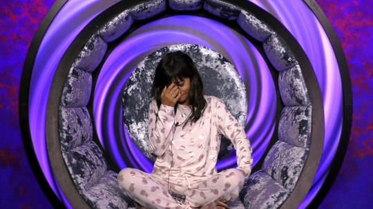 Celebrity Big Brother Summer 2018 - Day 15 Featuring: Roxanne Pallett. Where: London, United Kingdom When: 31 Aug 2018 Credit: Channel 5 (Supplied by WENN) **EDITORIAL USE ONLY. WENN DOES NOT CLAIM ANY OWNERSHIP OF THE MATERIALS. IMAGE COPYRIGHT REMAINS WITH CHANNEL 5.**