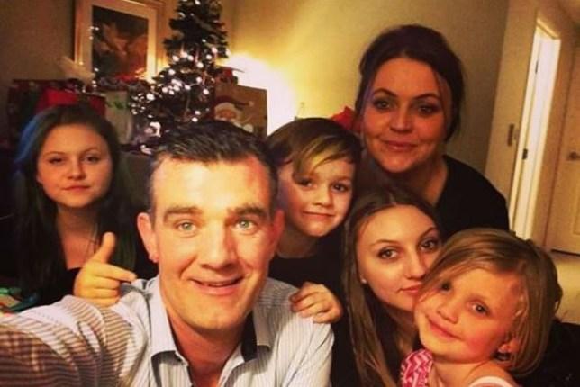 Stefan Karl Stefansson and family