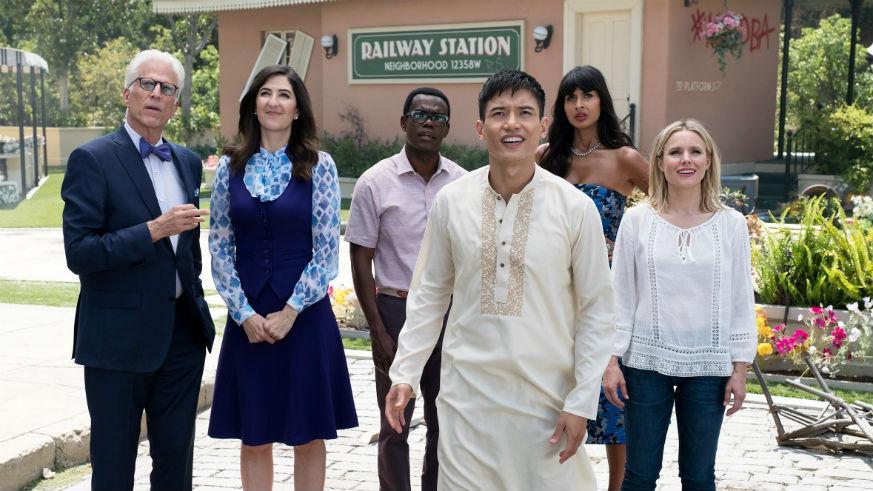 Jameela Jamil reveals 'British national treasure' is joining The Good Place season three