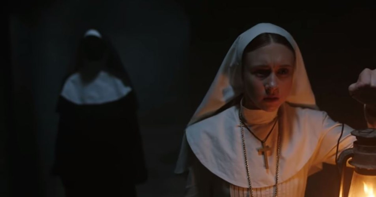 the nun ad removed