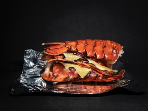 Burger & Lobster has just launched the Double Drown burger