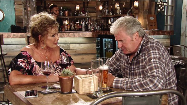 Jim drops a bombshell on Liz in Coronation Street