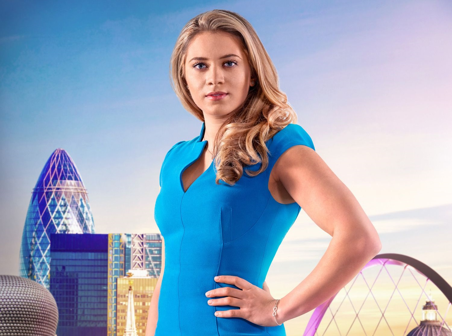 How old is The Apprentice's Sabrina Stocker and what's her tennis events company called?