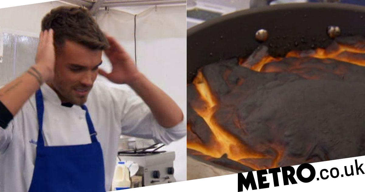 Everyone was burning their dishes on Celebrity MasterChef and it was hilarious