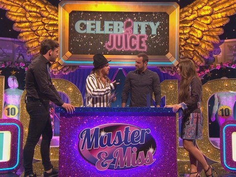 What time is Celebrity Juice with Dani Dyer and Jack Fincham on and what channel?