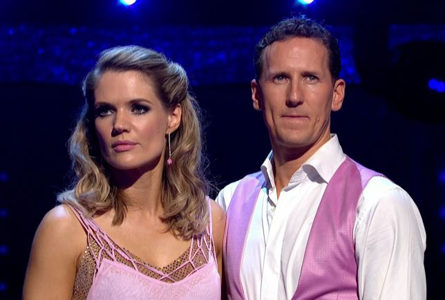 Charlotte Hawkins Brendan Cole Strictly Come Dancing