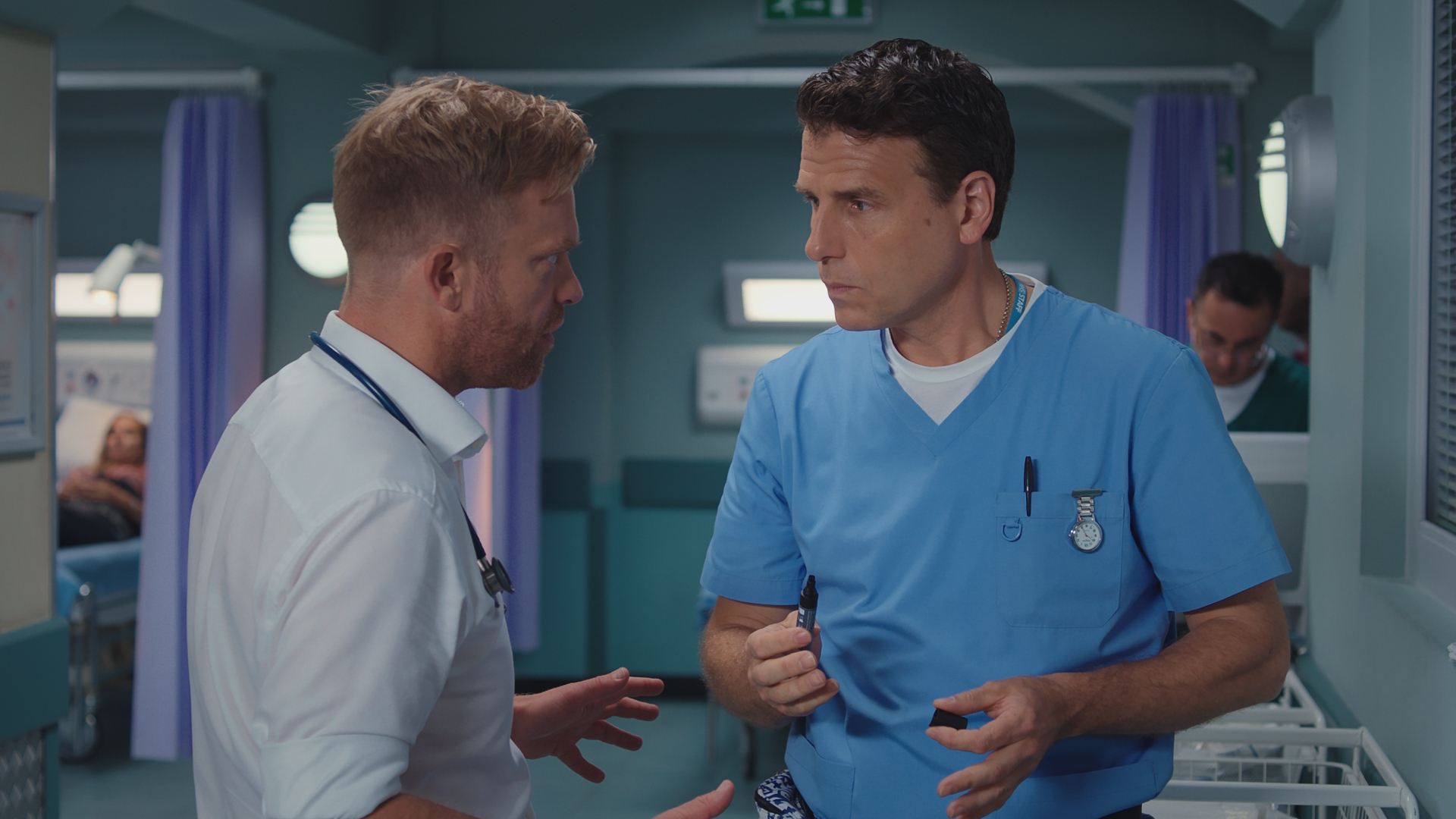 7 Casualty spoilers: Iain's guilty conscience, Dylan's worried about Ciara