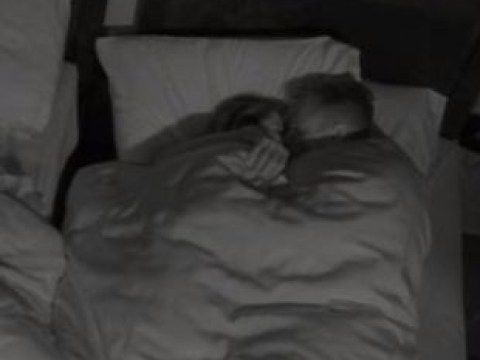 Big Brother viewers cringe as Ellis Hillon cosies up in bed with Lewis G hours before she gets kicked out