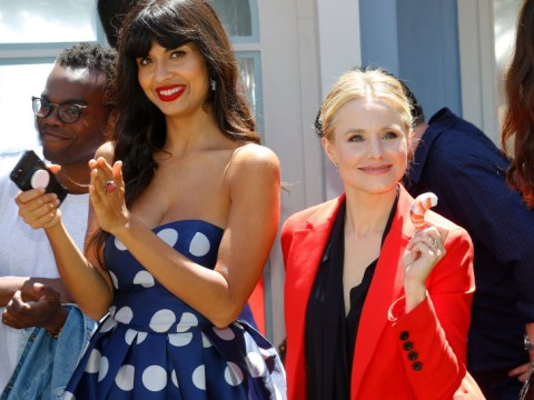 The Good Place's Eleanor is 'super bisexual' and a romance with Tahani is not off the table