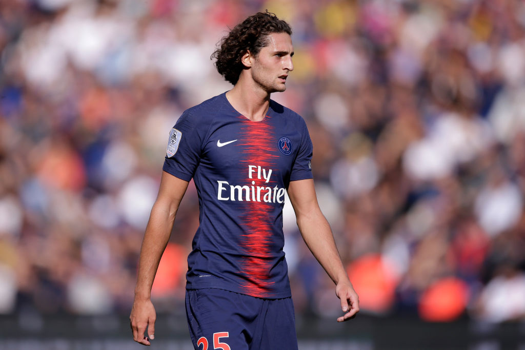 Adrien Rabiot open to joining Manchester City on free transfer